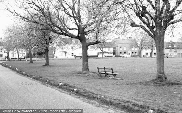 Photo of Writtle, The Green c.1965