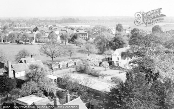 Photo of Writtle, The Green From Church Tower c.1965