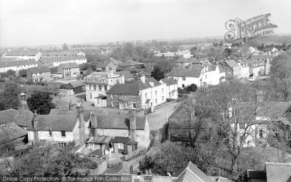 Photo of Writtle, The Green From The Church Tower c.1965