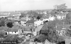 Writtle, The Green From The Church Tower c.1965