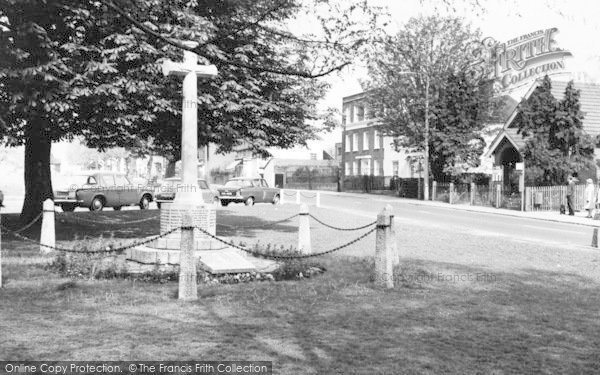 Photo of Writtle, The Memorial c.1965