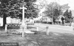 Writtle, The Memorial c.1965
