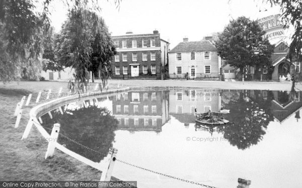 Photo of Writtle, The Pond And Green c.1960
