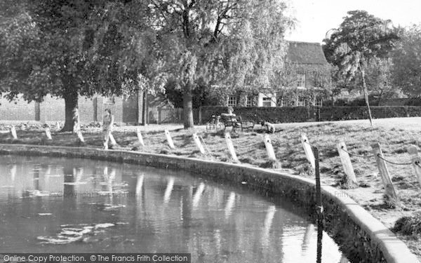 Photo of Writtle, The Pond c.1955