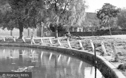 Writtle, The Pond c.1955