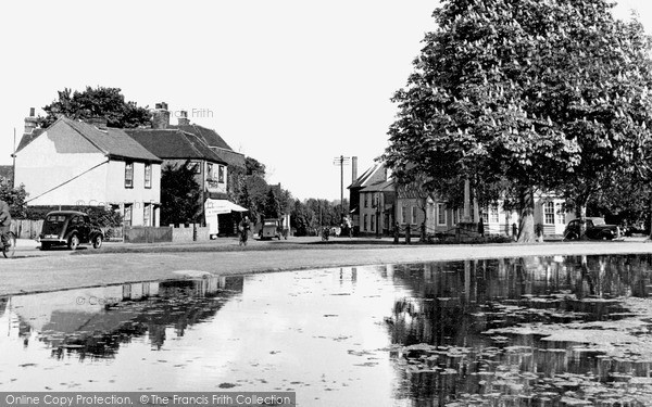 Photo of Writtle, The Village c.1955
