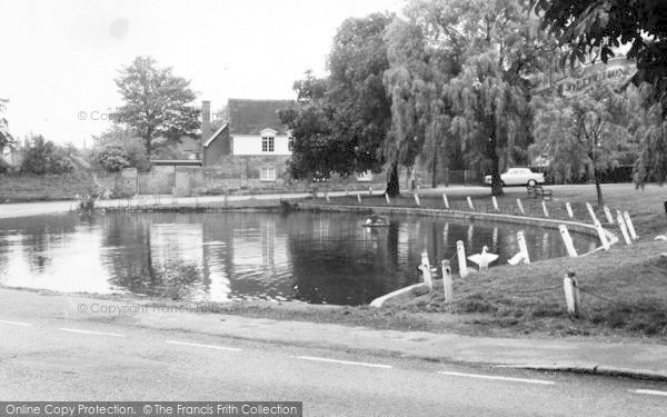 Photo of Writtle, The Weir c.1960