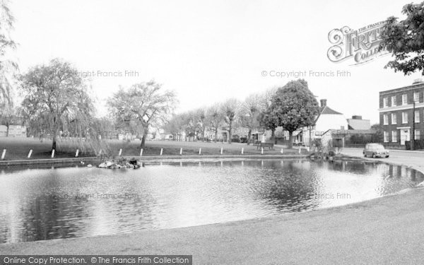 Photo of Writtle, The Weir c.1965