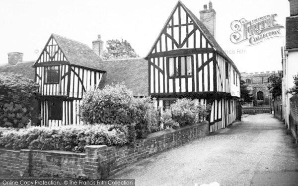 Photo of Writtle, Tudor House c.1960