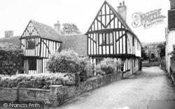 Writtle, Tudor House c.1960