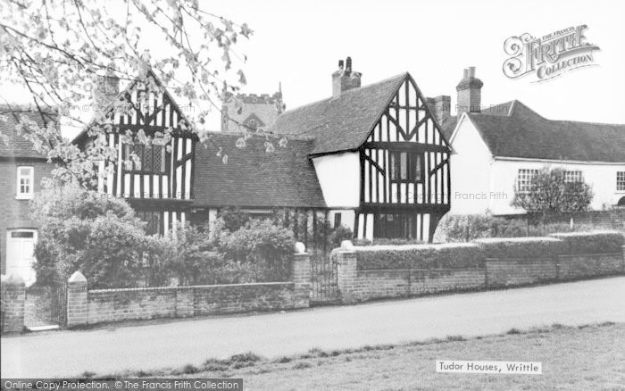 Photo of Writtle, Tudor Houses c.1940
