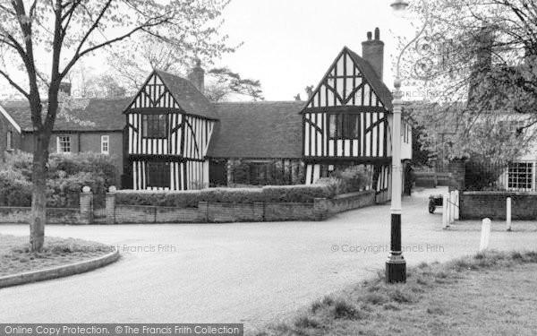 Photo of Writtle, Tudor Houses c.1965