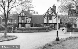 Writtle, Tudor Houses c.1965