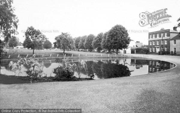 Photo of Writtle, Weir And Green c.1960