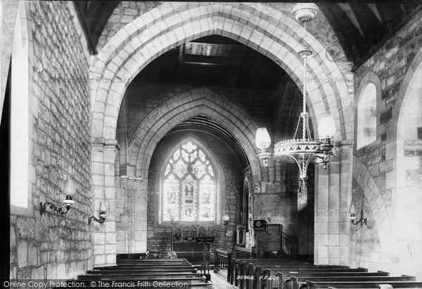 Photo of Wrockwardine, Church Interior 1895