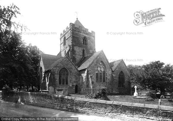 Photo of Wrockwardine, St Peter's Church 1895