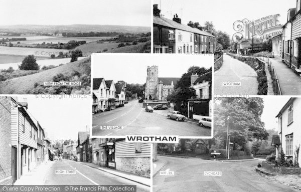 Photo of Wrotham, Composite c.1960