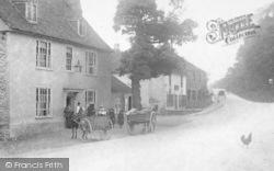 Wrotham Heath, Carts In The Village c.1900