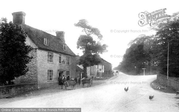 Photo of Wrotham Heath, The Village c.1900