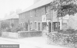 Wrotham Heath, The Village Shop 1903