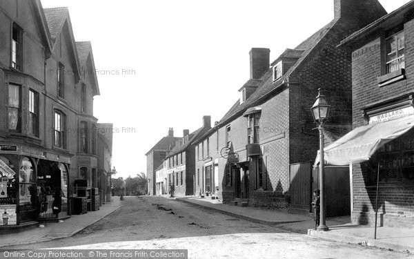 Photo of Wrotham, High Street 1901