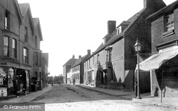 Wrotham, High Street 1901