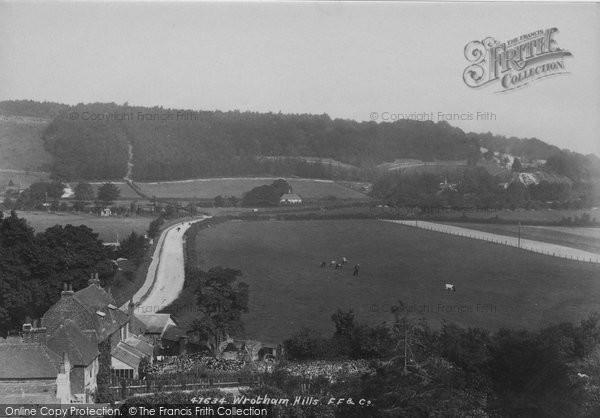 Photo of Wrotham, Hills 1901