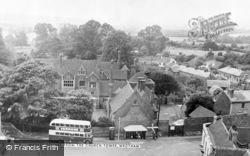 Wrotham, Market Square From The Church Tower c.1955
