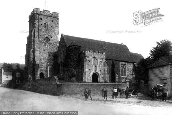 Photo of Wrotham, Parish Church Of St George 1901
