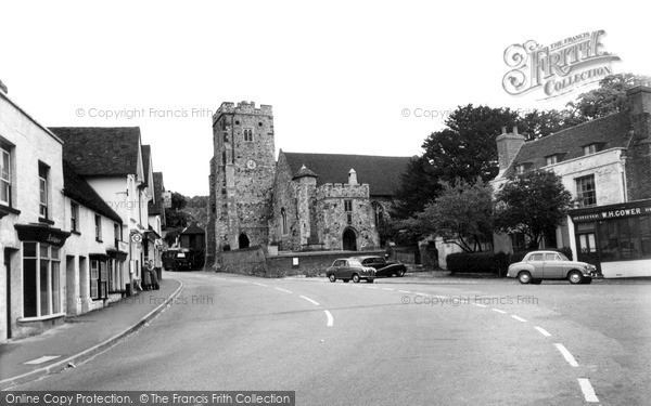 Photo of Wrotham, Parish Church Of St George c.1960