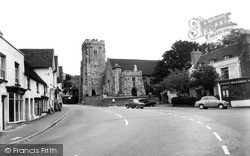 Wrotham, Parish Church Of St George c.1960