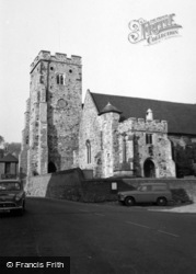 Wrotham, St George's Church 1960