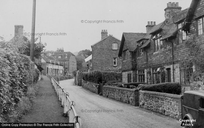 Photo of Wrotham, St Mary's Lane c.1955