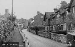 Wrotham, St Mary's Lane c.1955