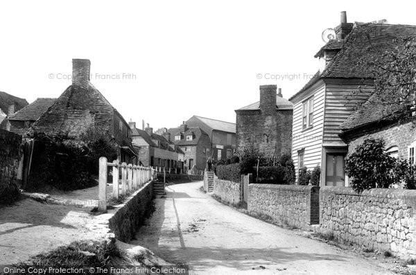 Photo of Wrotham, St Mary's Road 1903