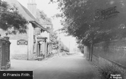 Wrotham, The Bull c.1955