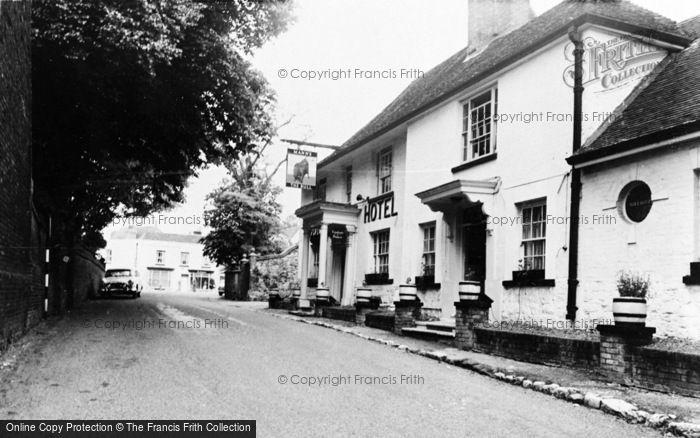 Photo of Wrotham, The Bull Hotel c.1960