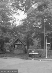 Wrotham, The Lychgate c.1955