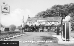Wrotham, The Tower Garage c.1955
