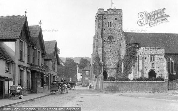 Photo of Wrotham, The Village 1904