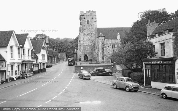 Photo of Wrotham, The Village c.1960