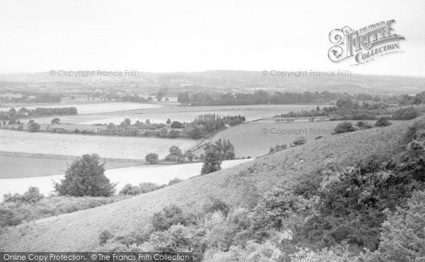 Photo of Wrotham, View From The Ridge c.1955