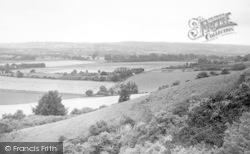 Wrotham, View From The Ridge c.1955