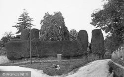 Wroughton, Church Hill 1910