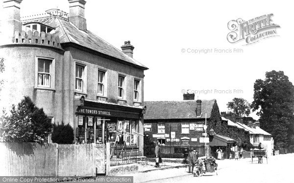 Photo of Wroughton, High Street c1913