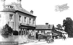Wroughton, High Street c.1913