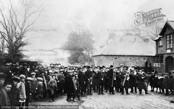 Photo of Wroughton, Silver Band 1910