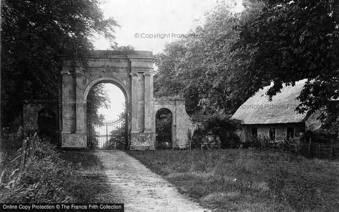 Photo of Wroxall, Appuldurcombe House, Freemantle Gate c.1900
