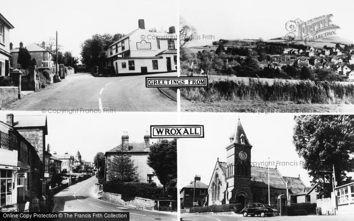 Photo of Wroxall, Composite c.1955