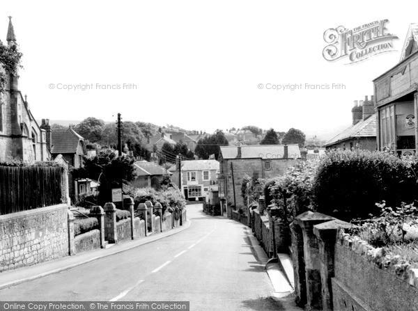 Photo of Wroxall, High Street c.1955